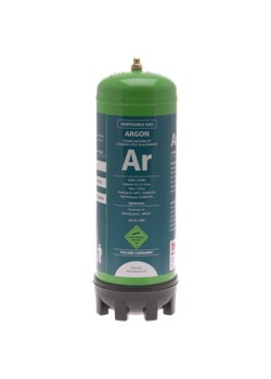 DISPOSABLE GAS - 100% ARGON - 2.2L