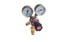 HARRIS ACETYLENE REGULATOR 801 - SIDE INLET