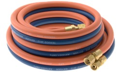 TWIN GAS HOSE ASSEMBLY - OXY/LPG (WITH FITTINGS)