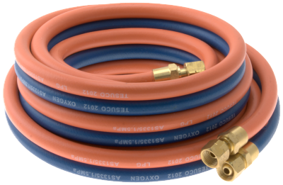 TWIN GAS HOSE ASSEMBLY - OXY/LPG (WITH FITTINGS)  sc 1 st  ARC Welding Supplies & TWIN GAS HOSE ASSEMBLY - OXY/LPG (WITH FITTINGS) - Arc Welding Supplies