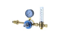 TESUCO ARGON FLOWMETER REGULATOR - SIDE ENTRY