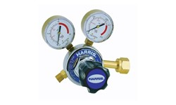 HARRIS OXYGEN REGULATOR 825 - SIDE INLET