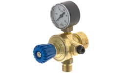 MINI REGULATOR WITH GAUGE - OXYGEN