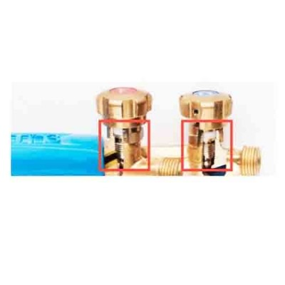 COMET 3 TORCH HANDLE VALVE - OXYGEN/FUEL