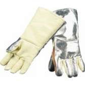 ALUMINISED KEVLAR GLOVE WOOL LINED