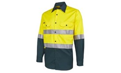 SHIRT LONG SLEEVE - HI VIS DAY/NIGHT (150GSM)