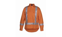 SHIRT LONG SLEEVE - HI VIS DAY/NIGHT TTMC-W (150GSM)