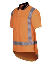 SHIRT SHORT SLEEVE - HI VIS DAY/NIGHT TTMC-W - POLO