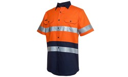 SHIRT SHORT SLEEVE - HI VIS DAY/NIGHT (190GSM)
