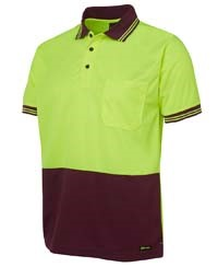 SHIRT SHORT SLEEVE - HI VIS DAY ONLY - POLO