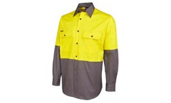 SHIRT LONG SLEEVE - HI VIS DAY ONLY (150GSM)