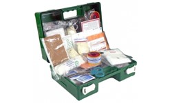 FIRST AID KIT - 1-5 PERSON WALL MOUNTED