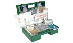 FIRST AID KIT - 1-12 PERSON WALL MOUNTED
