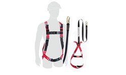 HONEYWELL VALUE HARNESS - WITH LANYARD