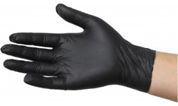 BLACK DRAGON DISPOSABLE NITRILE GLOVES - LARGE