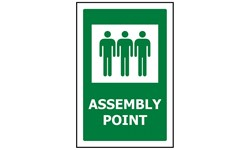 SIGN - ASSEMBLY POINT
