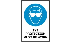 SIGN - EYE PROTECTION