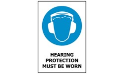 SIGN - HEARING PROTECTION