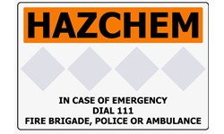 HAZCHEM SITE ENTRANCE/STORAGE SIGNS