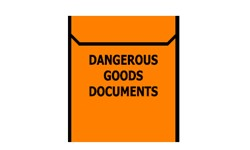 DANGEROUS GOODS DOCUMENTS SATCHEL