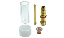 CK GAS LENSE KIT #8 - 2.4MM (PYREX)