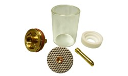 CK GAS LENS KIT LARGE DIAMETER - 2.4MM (PYREX)
